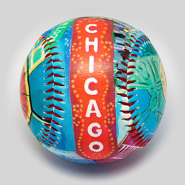 Buy Chicago Baseball Collectible • Hand-Painted, Unique Baseball Gifts by Unforgettaballs®
