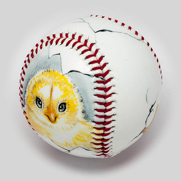 Buy Chick Baseball Collectible • Hand-Painted, Unique Baseball Gifts by Unforgettaballs®