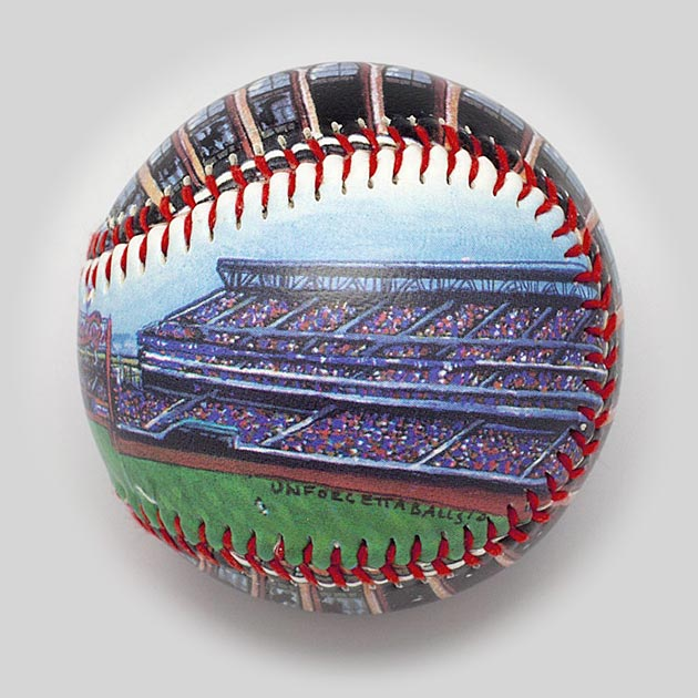 Buy Citi Field Baseball Collectible • Hand-Painted, Unique Baseball Gifts by Unforgettaballs®