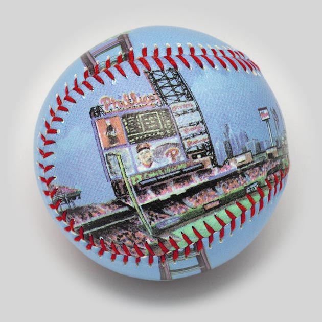 Buy Citizens Bank Park Baseball Collectible • Hand-Painted, Unique Baseball Gifts by Unforgettaballs®