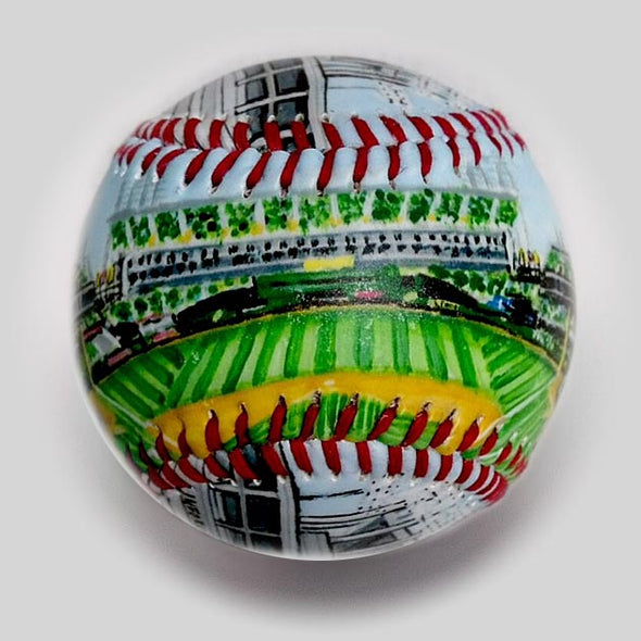 Buy The Coliseum Baseball Collectible • Hand-Painted, Unique Baseball Gifts by Unforgettaballs®