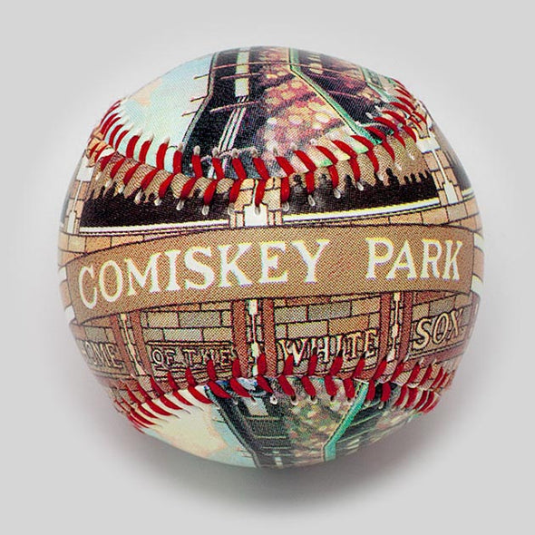 Buy Comiskey Park Baseball Collectible • Hand-Painted, Unique Baseball Gifts by Unforgettaballs®
