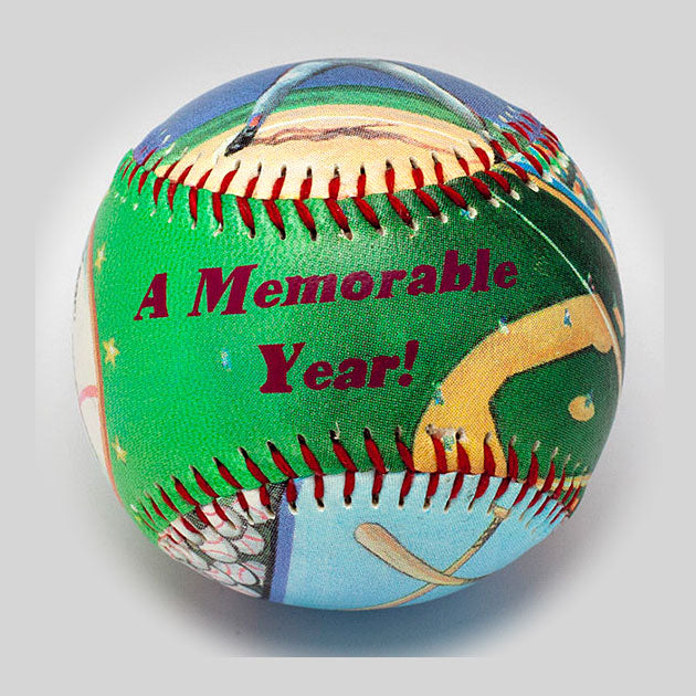 Buy Commemorative Personalized Baseball Collectible • Hand-Painted, Unique Baseball Gifts by Unforgettaballs®