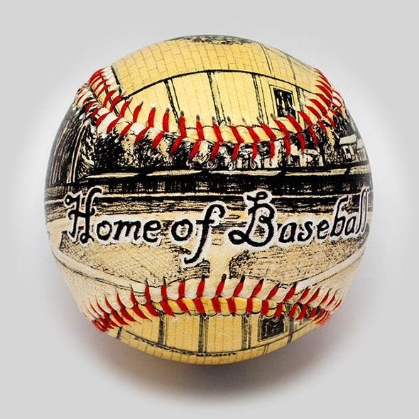 Buy The Cooperstown, NY Baseball Collectible • Hand-Painted, Unique Baseball Gifts by Unforgettaballs®