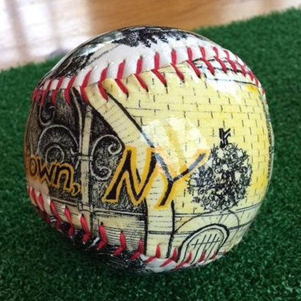 Buy Cooperstown Softball Collectible • Hand-Painted, Unique Baseball Gifts by Unforgettaballs®