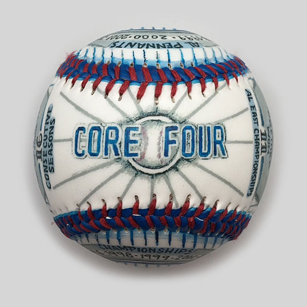 Buy Baseball Legends: The Core-4 Collectible • Hand-Painted, Unique Baseball Gifts by Unforgettaballs®