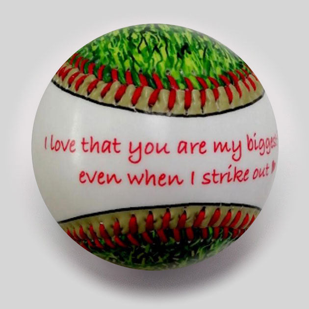 Buy Best Dad Ever Baseball Collectible • Hand-Painted, Unique Baseball Gifts by Unforgettaballs®