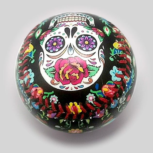 Buy Day of the Dead Baseball Collectible • Hand-Painted, Unique Baseball Gifts by Unforgettaballs®