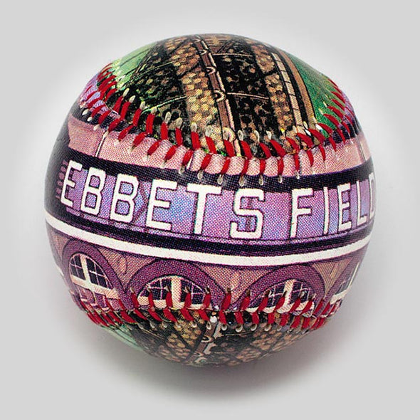 Buy Ebbets Field Baseball Collectible • Hand-Painted, Unique Baseball Gifts by Unforgettaballs®