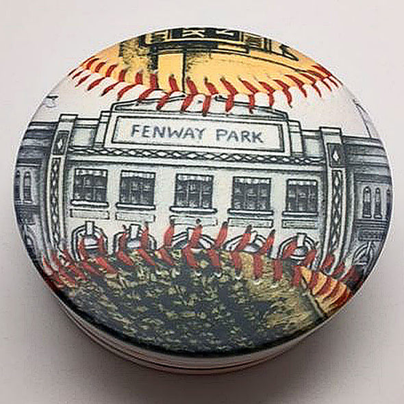 Buy Opening Day Fenway Park Coaster Set Collectible • Hand-Painted, Unique Baseball Gifts by Unforgettaballs®