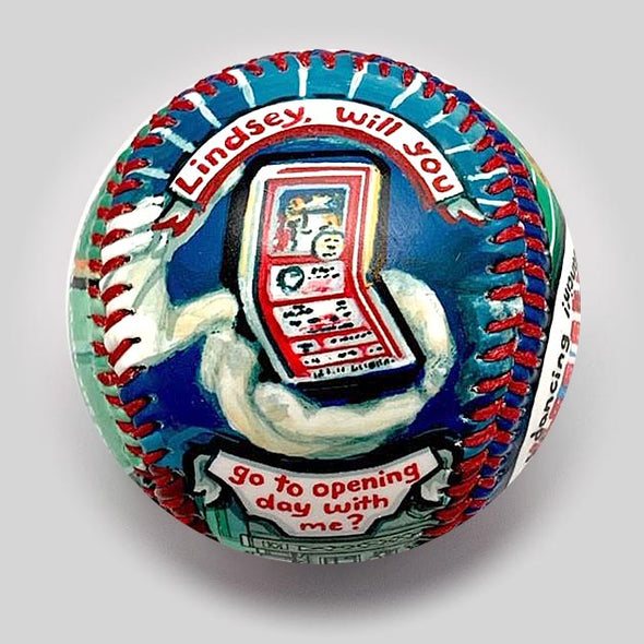 Buy Movie Baseball: Fever Pitch Collectible • Hand-Painted, Unique Baseball Gifts by Unforgettaballs®