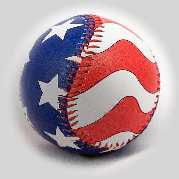 Buy The American Flag Baseball Collectible • Hand-Painted, Unique Baseball Gifts by Unforgettaballs®