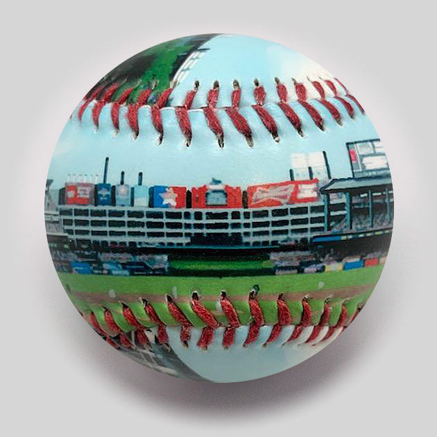 Buy Globe Life Park Baseball Collectible • Hand-Painted, Unique Baseball Gifts by Unforgettaballs®