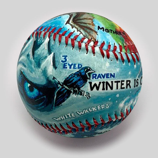 Buy Thrones Baseball Collectible • Hand-Painted, Unique Baseball Gifts by Unforgettaballs®