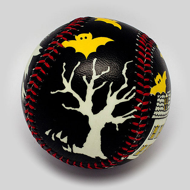 Buy Halloween Black Night Baseball Collectible • Hand-Painted, Unique Baseball Gifts by Unforgettaballs®