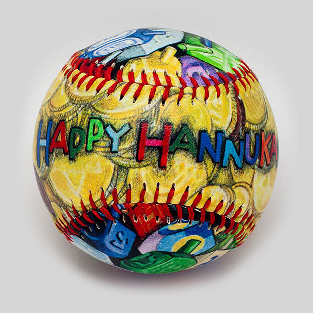 Buy Hannukah Baseball Collectible • Hand-Painted, Unique Baseball Gifts by Unforgettaballs®