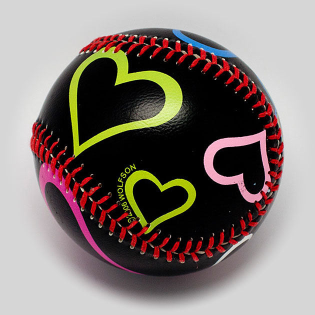 Buy Hearts Baseball Collectible • Hand-Painted, Unique Baseball Gifts by Unforgettaballs®