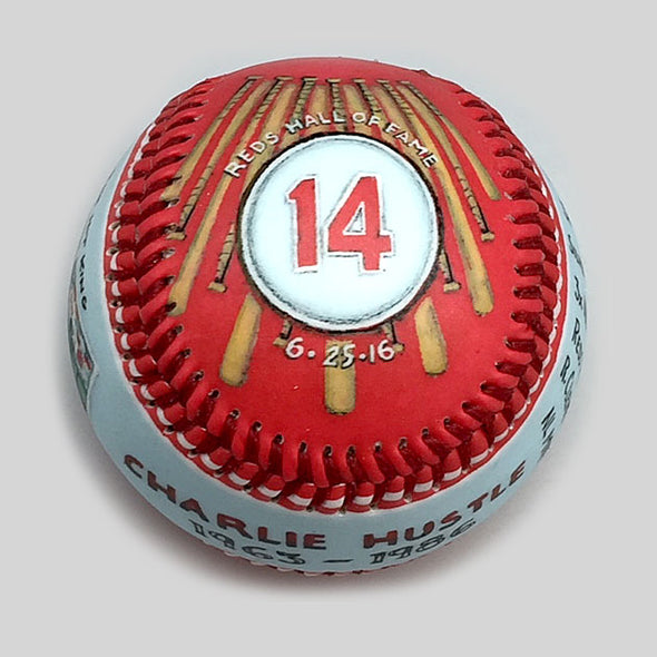 Buy Commemorative Baseball: The Hit King Collectible • Hand-Painted, Unique Baseball Gifts by Unforgettaballs®