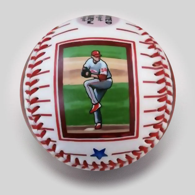 "Buy Commemorative Baseball: ""Doc"" Hall of Fame Collectible • Hand-Painted, Unique Baseball Gifts by Unforgettaballs®"