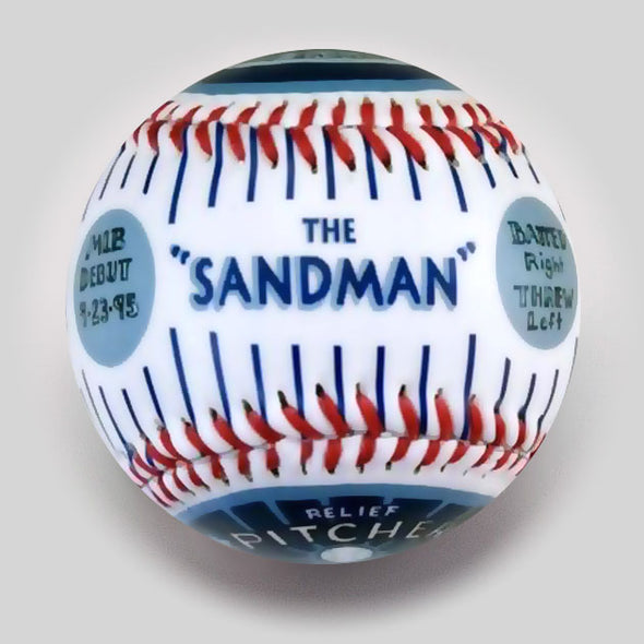 "Buy Commemorative Baseball: ""Sandman"" Hall of Fame  **ships 7/15/19** Collectible • Hand-Painted, Unique Baseball Gifts by Unforgettaballs®"