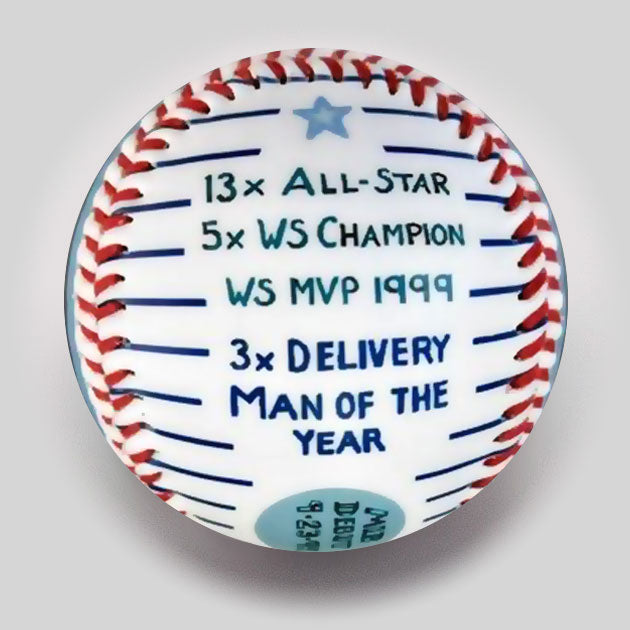 "Buy Commemorative Baseball: ""Sandman"" Hall of Fame Collectible • Hand-Painted, Unique Baseball Gifts by Unforgettaballs®"
