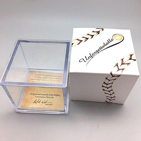 Commemorative Baseball: Lasorda  **preorder- ships 2/20/21**