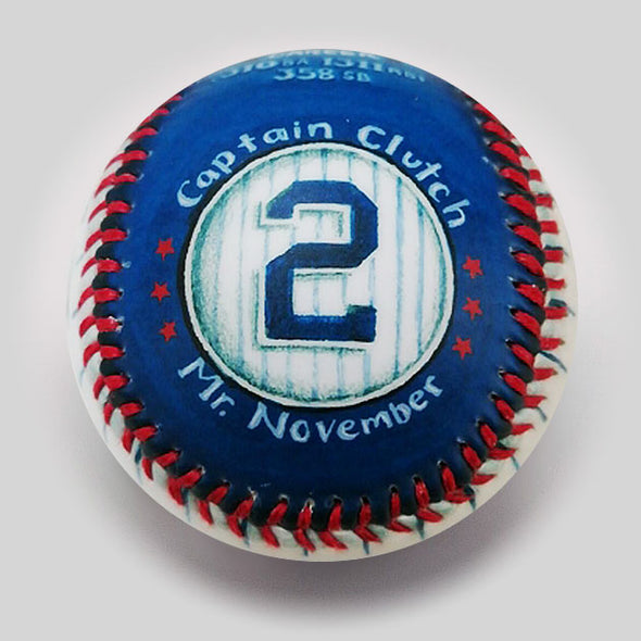 Commemorative Baseball: The Captain HOF 2020