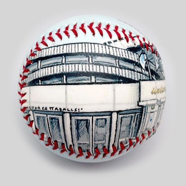 Buy Kauffman Stadium Baseball Collectible • Hand-Painted, Unique Baseball Gifts by Unforgettaballs®