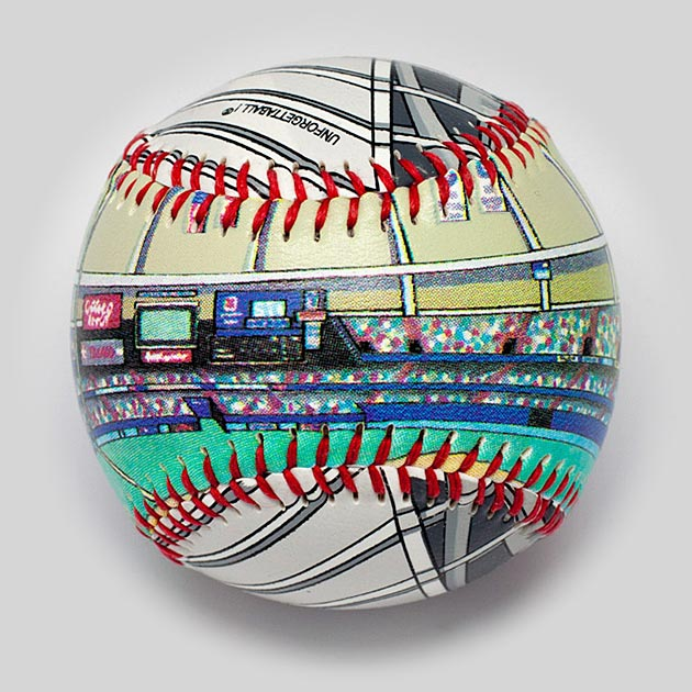 Buy Kingdome Baseball Collectible • Hand-Painted, Unique Baseball Gifts by Unforgettaballs®