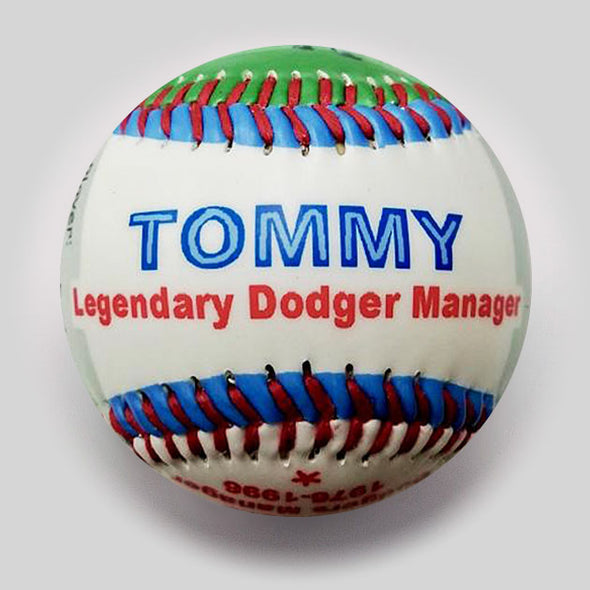 Commemorative Baseball: Lasorda