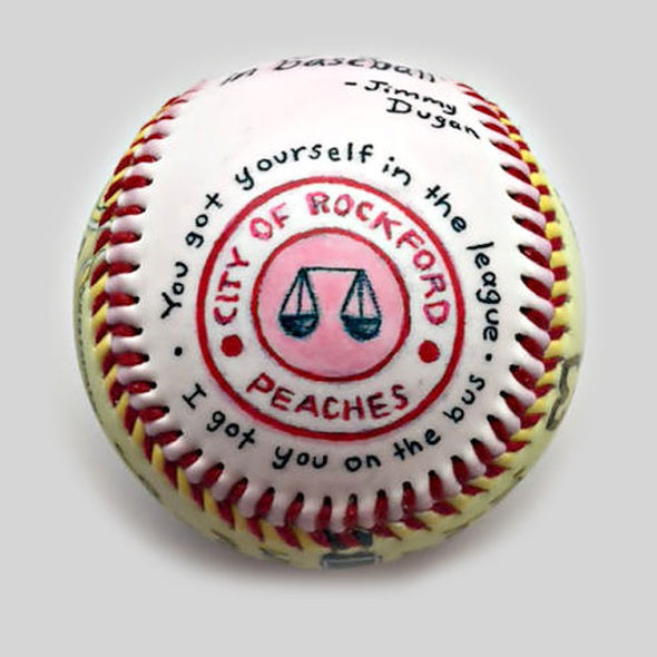 Buy Movie Baseball: No Crying in Baseball Collectible • Hand-Painted, Unique Baseball Gifts by Unforgettaballs®