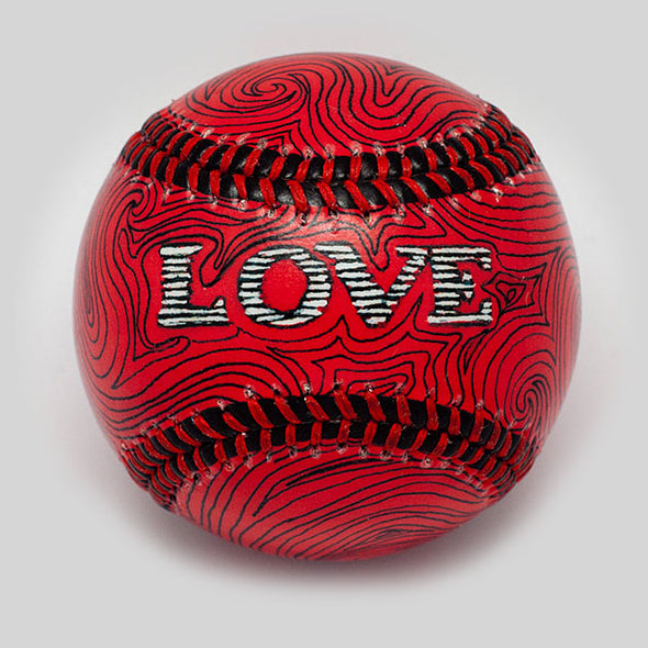 Buy Love Baseball Collectible • Hand-Painted, Unique Baseball Gifts by Unforgettaballs®