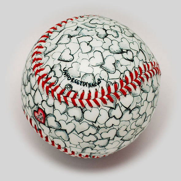 Buy I Love You Baseball Collectible • Hand-Painted, Unique Baseball Gifts by Unforgettaballs®