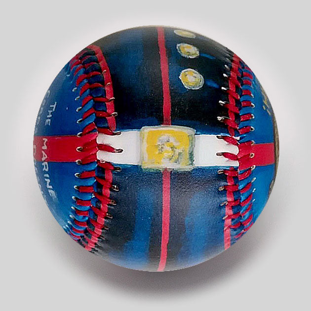 Buy Military: Marines Baseball Collectible • Hand-Painted, Unique Baseball Gifts by Unforgettaballs®