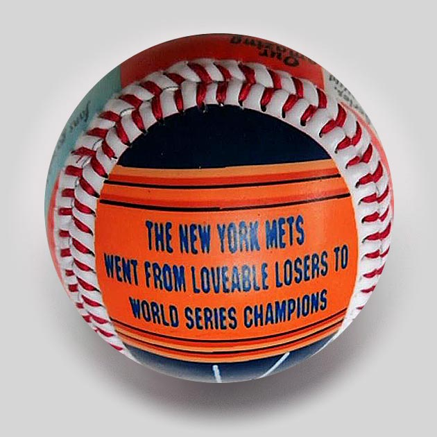 Buy Baseball Legends: The Miracle Mets Collectible • Hand-Painted, Unique Baseball Gifts by Unforgettaballs®