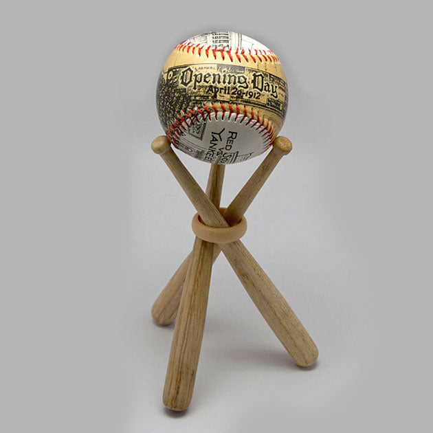 Buy Mini Wooden Bats Display for One Baseball Collectible • Hand-Painted, Unique Baseball Gifts by Unforgettaballs®