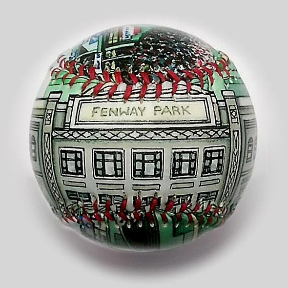 Buy New Fenway Park Baseball  **ships 5/15/19** Collectible • Hand-Painted, Unique Baseball Gifts by Unforgettaballs®