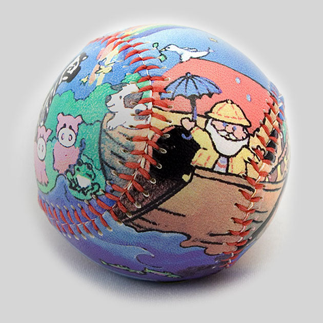 Buy Noah's Ark Baseball Collectible • Hand-Painted, Unique Baseball Gifts by Unforgettaballs®