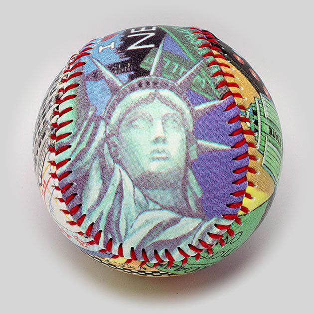 Buy New York City Baseball Collectible • Hand-Painted, Unique Baseball Gifts by Unforgettaballs®
