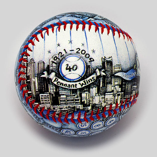 Buy New York Fan Gift Baseball Collectible • Hand-Painted, Unique Baseball Gifts by Unforgettaballs®
