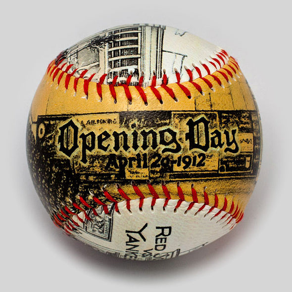Opening Day Baseball: Fenway Park 1912