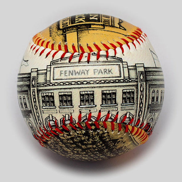 Buy Opening Day Baseball: Fenway Park 1912 Collectible • Hand-Painted, Unique Baseball Gifts by Unforgettaballs®