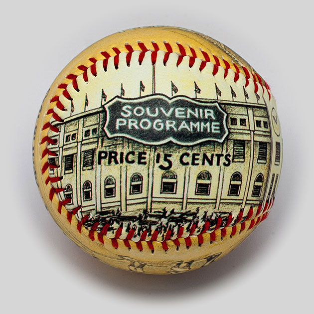 Buy Opening Day Baseball: Yankee Stadium 1923 Collectible • Hand-Painted, Unique Baseball Gifts by Unforgettaballs®