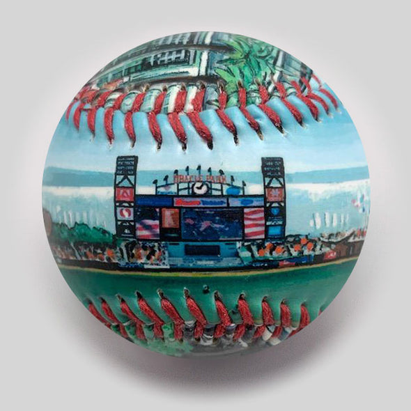 Buy Oracle Park Baseball Collectible • Hand-Painted, Unique Baseball Gifts by Unforgettaballs®