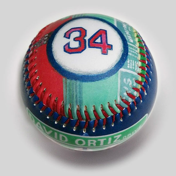Buy Commemorative Baseball: Papi Landmark Collectible • Hand-Painted, Unique Baseball Gifts by Unforgettaballs®
