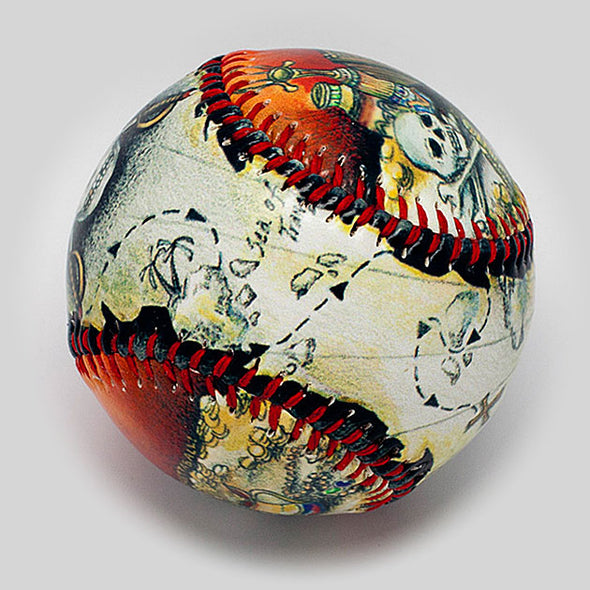 Buy Pirate Treasure Baseball Collectible • Hand-Painted, Unique Baseball Gifts by Unforgettaballs®