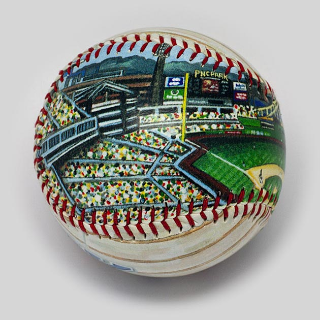 Buy PNC Park Baseball Collectible • Hand-Painted, Unique Baseball Gifts by Unforgettaballs®
