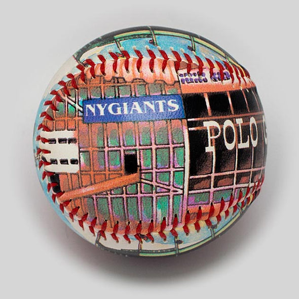 Buy Polo Grounds Baseball Collectible • Hand-Painted, Unique Baseball Gifts by Unforgettaballs®