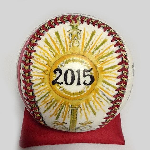 Buy Pope Francis Baseball Collectible • Hand-Painted, Unique Baseball Gifts by Unforgettaballs®