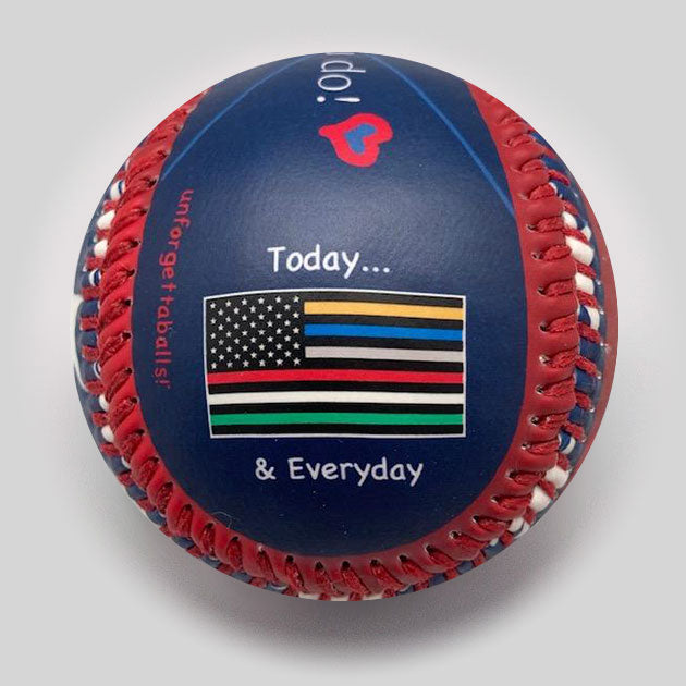 Buy First Responders Ball Collectible • Hand-Painted, Unique Baseball Gifts by Unforgettaballs®